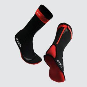 Neopreninės plaukimo kojinės iš Zone 3