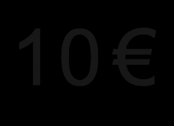 10 eurų dovana!